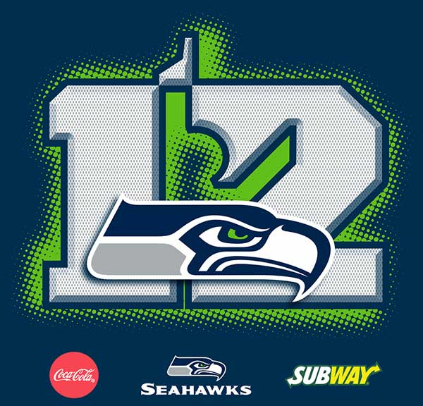 Seattle Seahawks P.O.P.