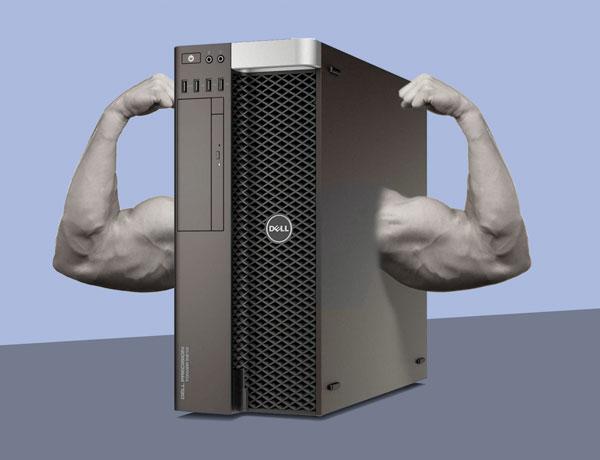Rimshot's Got a New Computer!